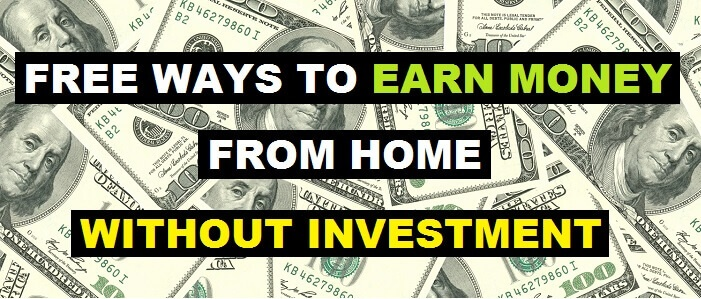 free ways to earn money from home