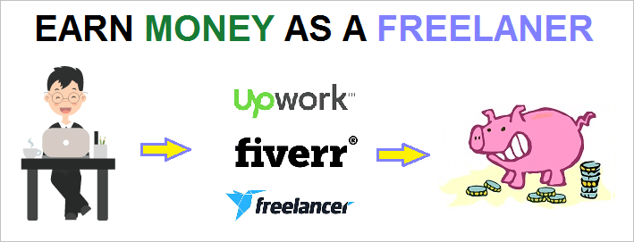 Freelancing jobs with best freelancing websites