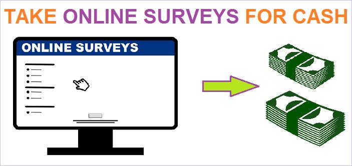 Take online surveys for cash with best survey sites