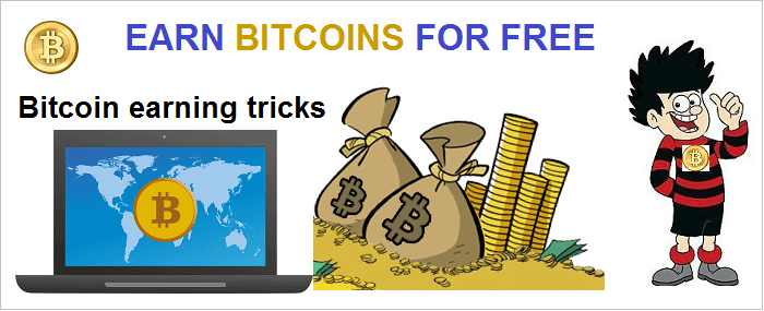 earn bitcoins for free