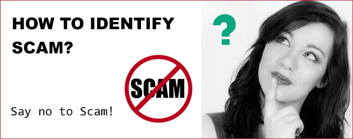 how to identify scam jobs